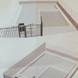 マイホーム計画!外構の立面図♫