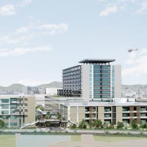 姫路駅の東側 市内最大の病院ができるの? 事業計画をざっくりまとめてみた