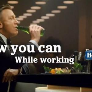 「007 ノー・タイム・トゥ・ダイ」&ハイネケン コラボCM!Heineken 0.0 Daniel Craig vs James Bond