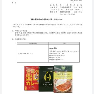 東北化学薬品(7446)から9月権利の優待品が届きました☺️