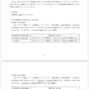 東武住販(3297)から5月権利の優待品が届きました☺️