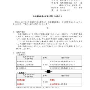 ワタミ(7522)より9月権利のお食事券が届きました☺️