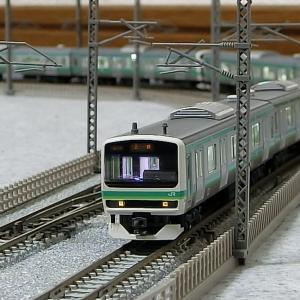 Nゲージ 1840 唯一のエメラルドグリーン 常磐線 E231系