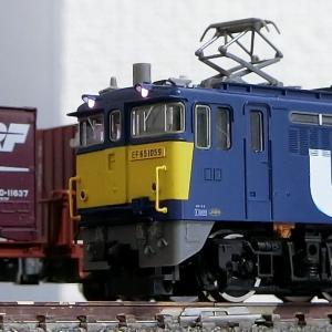 閑話小話 123 試験塗装機の雄 EF65 1059号機