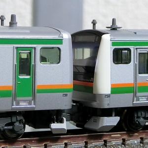 閑話小話 246 E231/E233系 異型式併結