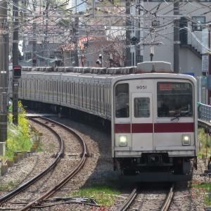 《東武》【写真館110】たった2編成のみ!地下鉄まで入る9050系