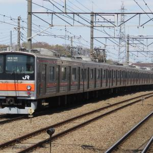 《JR東日本》【写真館165】ついに離脱、武蔵野線205系のトップ編成