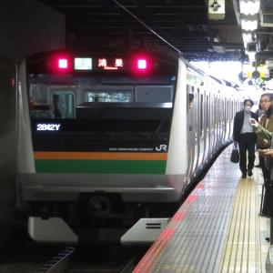 《JR東日本》【写真館259】ダイヤ乱れで登場した湘南新宿ライン「鴻巣行き」