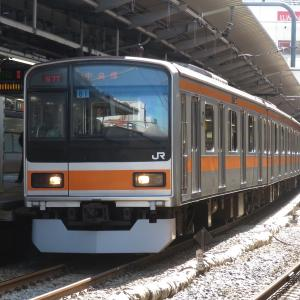 《JR東日本》【写真館266】中央線の隅っこの顔として定着してきた209系