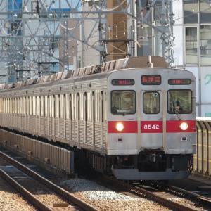 《東急》【写真館362】田都朝ラッシュの役目を終えて折り返してくる電車たち