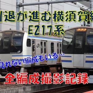 《JR東日本》【写真館47*】全編成撮影記録E217系編!~まだまだ現役のトップナンバー~