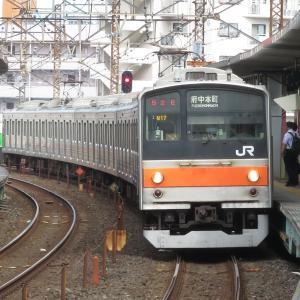 《旅日記》夏休みの最初にさらっと大回り~Part3~京葉線と武蔵野線のデルタ線