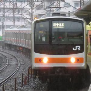 《JR東日本》【写真館66】武蔵野線生え抜きのメルヘン顔205系は残り1編成に…