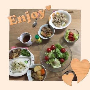 今日の晩ご飯(^^)