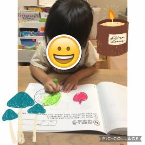 【家庭学習】3歳1ヶ月