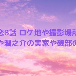 ボス恋8話ロケ地や撮影場所は?遊園地や潤之介の実家や磯部の場所!