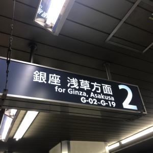 待乳山聖天ミニオフ会報告(1)電車でいざ浅草へ!
