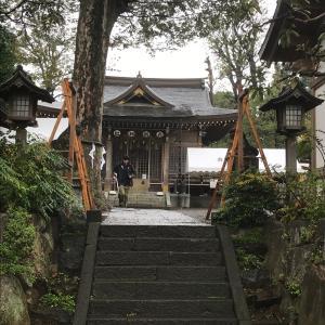 産土神社の例大祭の準備と水と犬とキンモクセイ