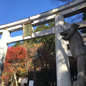 三峯神社の奥宮へ