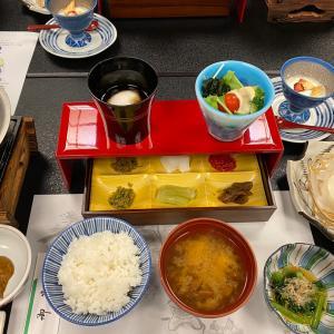 信州の2日目、豪華な朝食