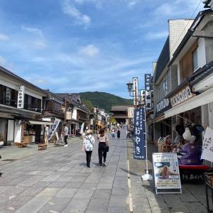 戸隠神社オフ会(6)仲見世通りと峠の釜飯