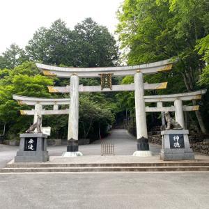大雪の三峯神社(°▽°)