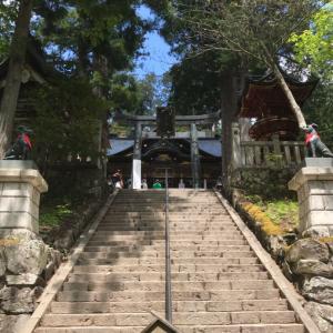 """7月三峯神社オフ会のこと""""三峯神社の拝殿で見た、めずらしい光景"""""""