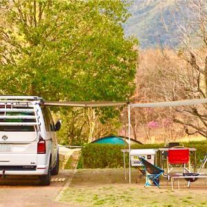 キャンプ48 '20.4/3-4 -日時計の丘公園オートキャンプ場-