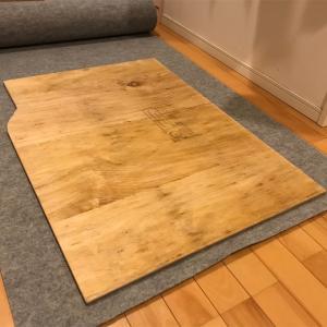 フラット床の作成 その②【エブリィ DA17V】