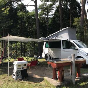 9月末の標高1000mはさすがに寒かった… -キャンプ58 '21.9/25-26 @フォレストステーション波賀-