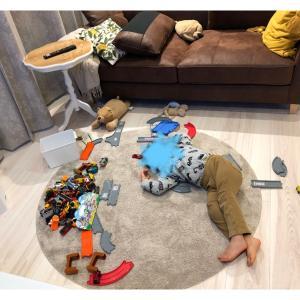 息子のおもちゃ収納