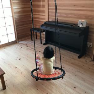 【ネットブランコレビュー】室内の梁につけたら子供大喜び