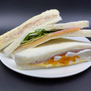 卵とチーズのコクがいい食べ応え!【ファミリーマート】ミックスサンド
