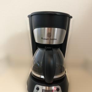 【家電レビュー】ラッセルホブスのコーヒーメーカー5杯用を購入!徹底口コミするよ〜!