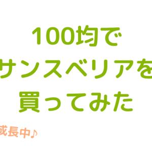 【成長記録】100均でサンスベリアを買ってみた。使用している土や水のあげ方、根が生えた過程