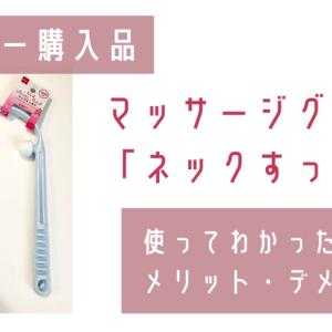 【ダイソー220円グッズ】ネックすっきりを使ってわかったメリット・デメリット|使い方のコツと注意点