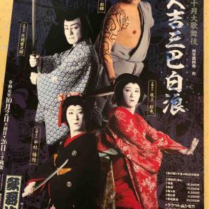 観劇記録『芸術祭十月大歌舞伎』夜の部