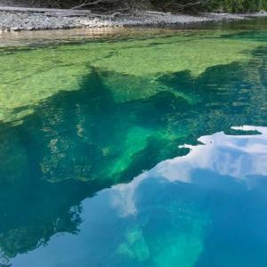 支笏湖で昼寝