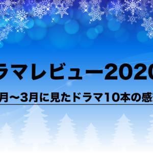 ドラマレビュー2020冬|1月〜3月に見たドラマの10本の感想|恋つづ&テセウス