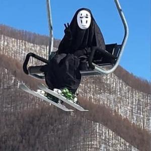 スキーに行きたいよ〜