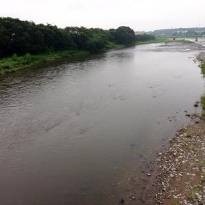 例会で那珂川へ