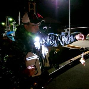 磯崎港で、メバル釣り