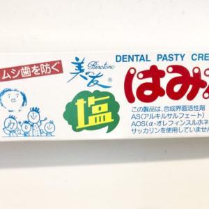 フッ素なしの歯磨き粉「美の友塩はみがき」を購入!使った感想をシェアするよ〜!