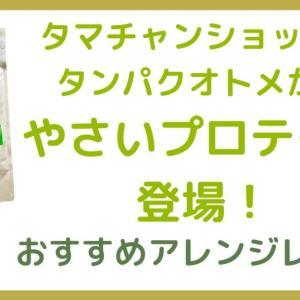 【美味しい飲み方】タンパクオトメのやさいタイプを即買い。おすすめはラズベリーレシピ【ブログ】