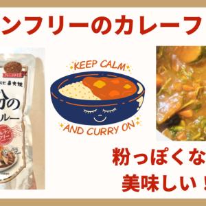 粉っぽくない!コスモ食品の米粉のカレールーはしっかりとしたカレーの味意外に美味しかった【市販のグルテンフリーカレー】