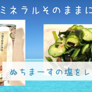 【口コミ】200倍のマグネシウム「ぬちまーす」の塩を成城石井で500円で購入。こんなさらさらした塩はじめて。