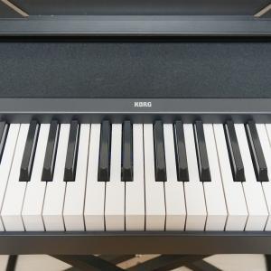 「電子ピアノ」と「電子キーボード」何が違う?ピアノ教室に通い始めたら、お財布にも優しいKORGの電子ピアノですよ【KORG B2N】