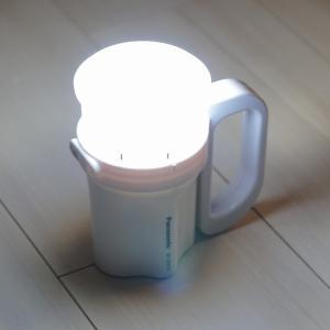 防災用の懐中電灯は【電池がどれでもライト】がベストバイ!ランタンにもなる万能照明【パナソニック BF-BM10-W】