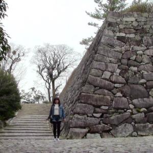 伊賀上野城へ