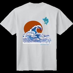 波! デザイン Tシャツ!